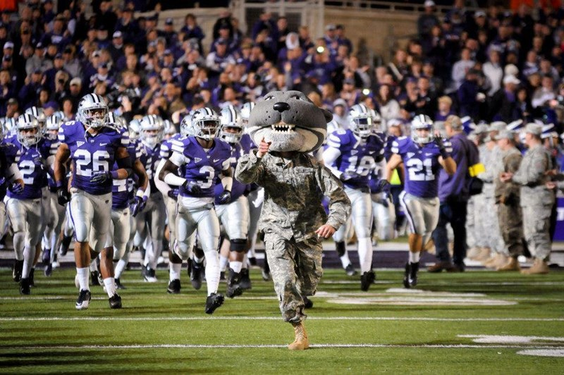 K State near Fort Riley