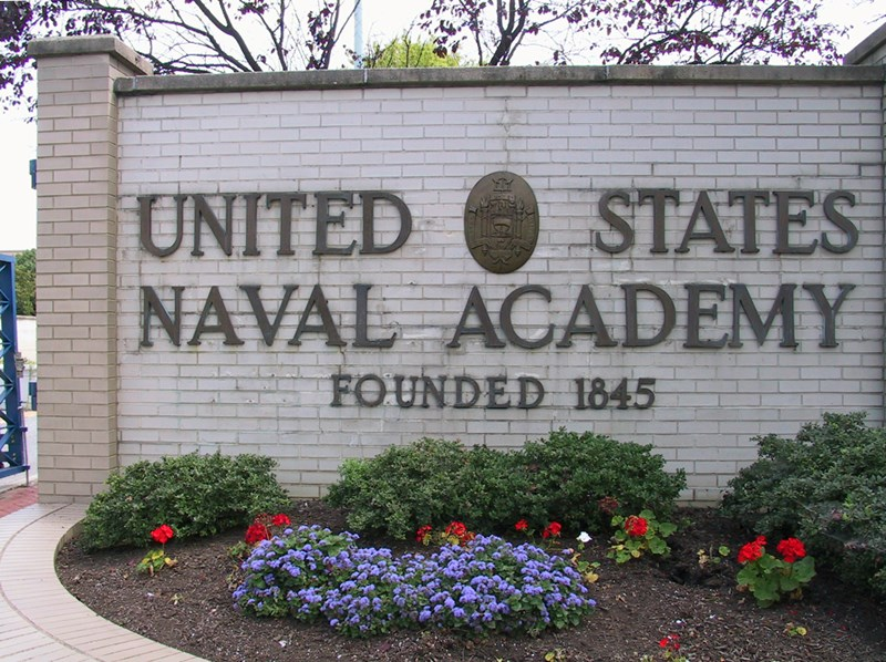 US_Naval_Academy_sign